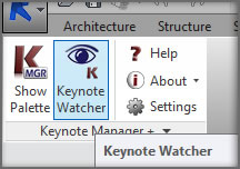 Watcher Toggle Button